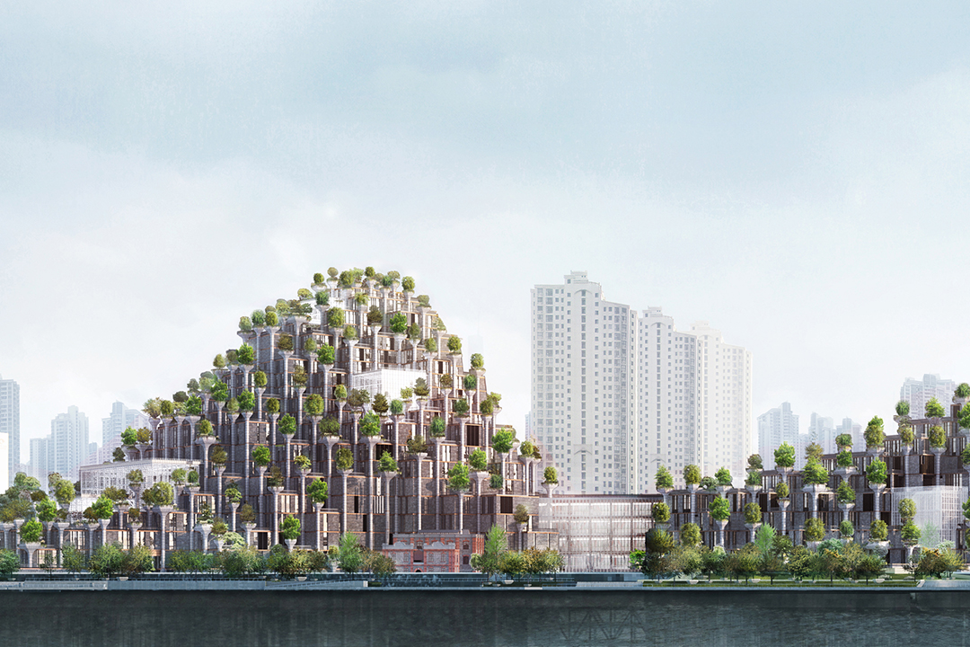 Innovative Global Architecture of 2019 includes new images of 1000 Trees in Shanghai