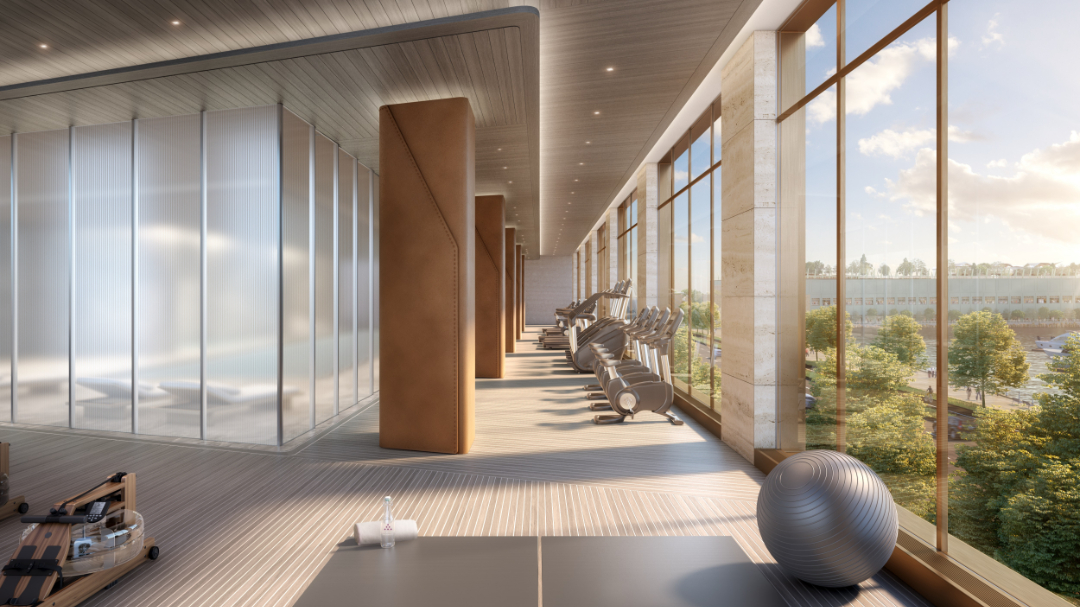 nyc buildings best wellness amenities The Xi