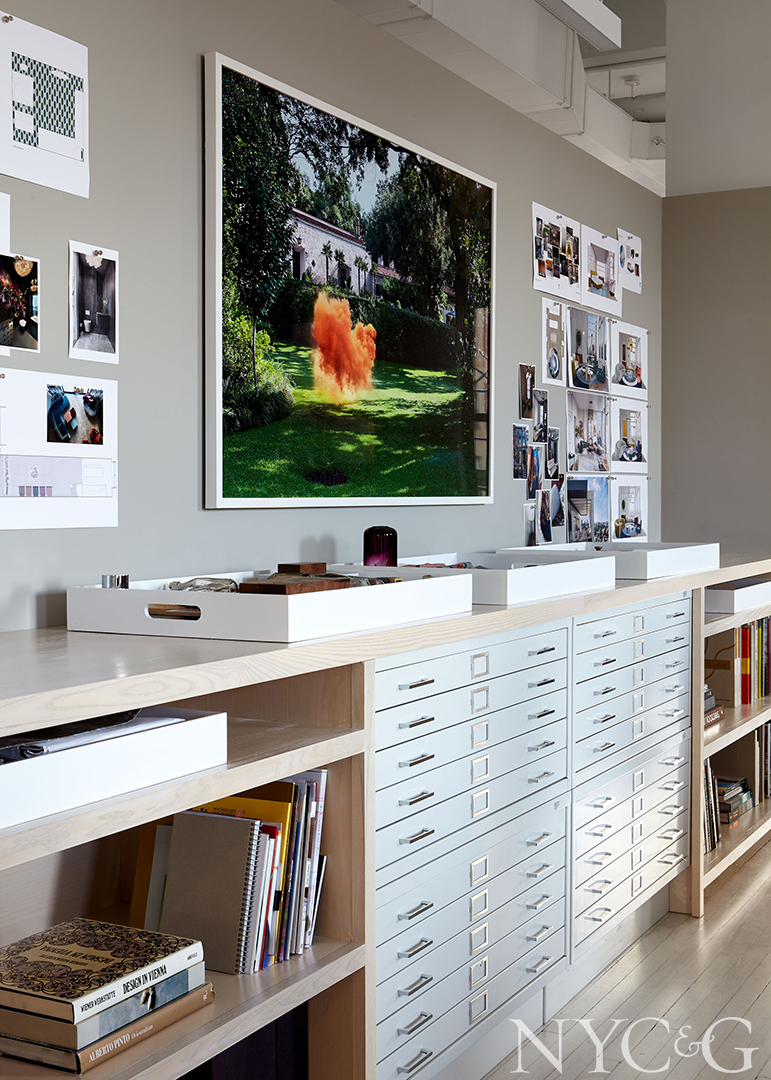 Flat file storage for materials