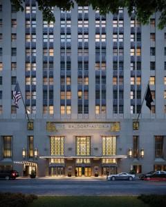 Waldorf Astoria Private Residences Facade