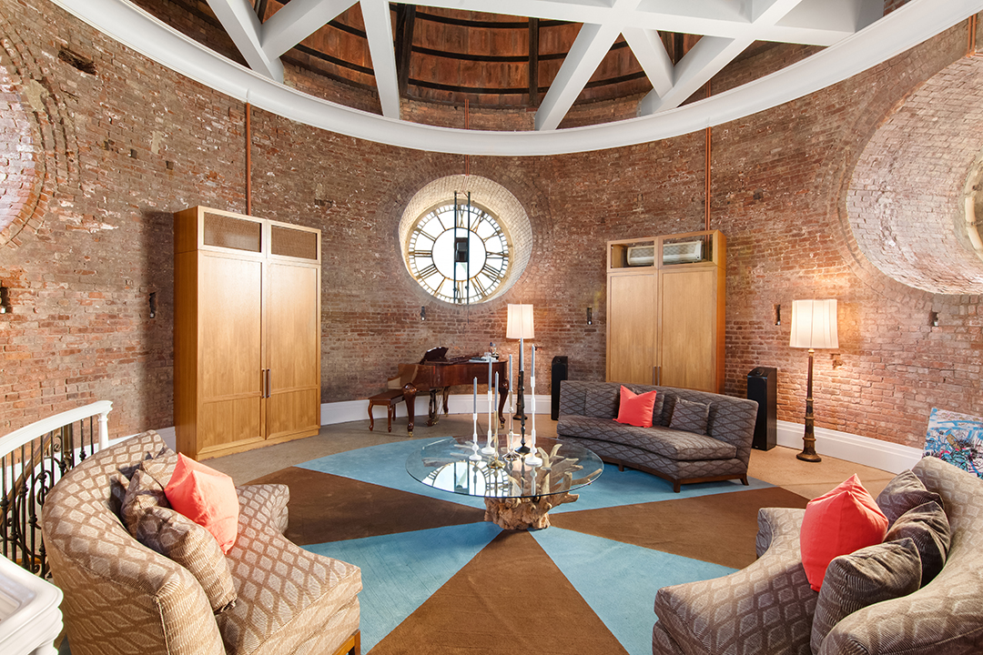 The Police Buildings Dome Clock Tower Penthouse Asks 14 9m Secret Room