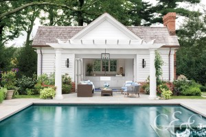 Darien Home Pool House