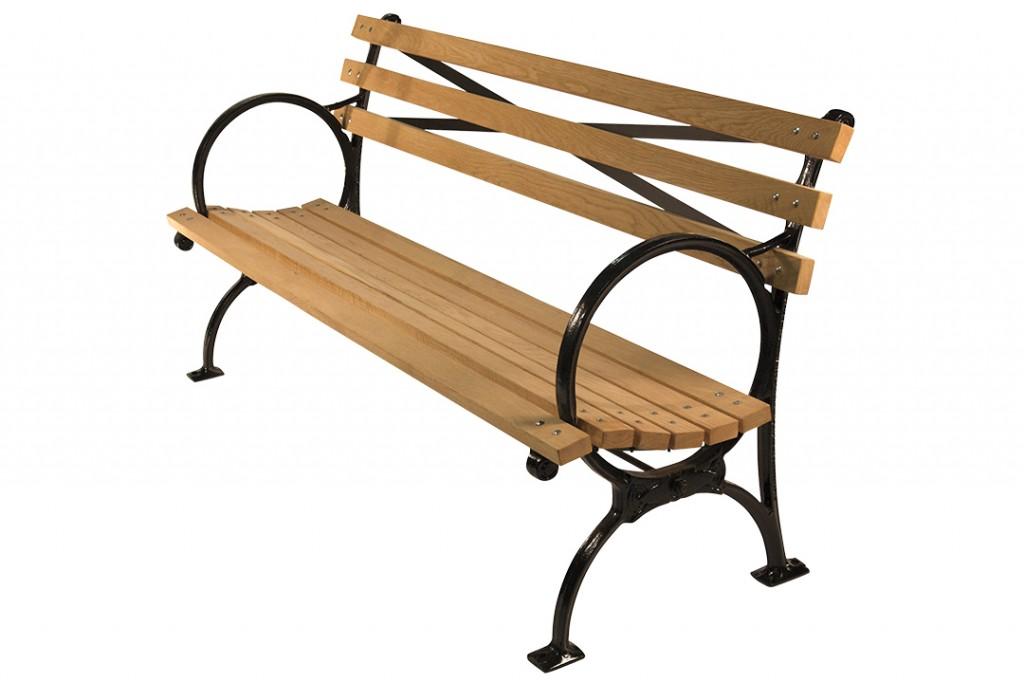 Kenneth Lynch & Sons Hoop Arm Bench