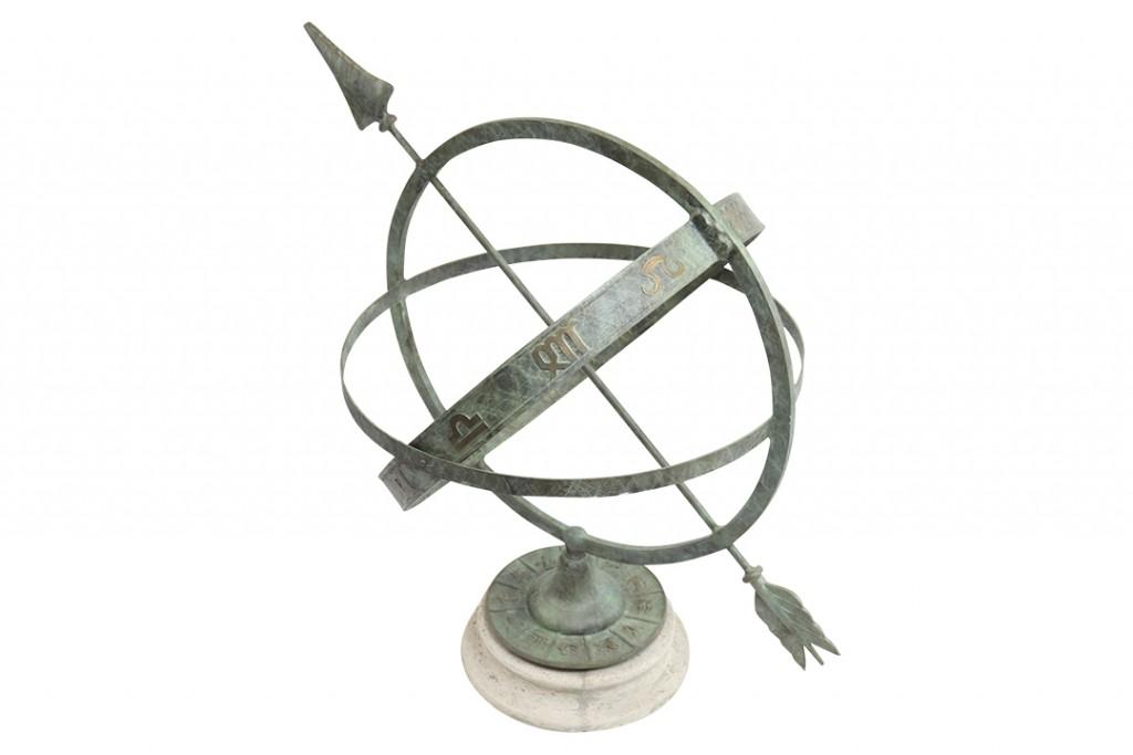 Kenneth Lynch & Sons Spherical Armillary Sundial