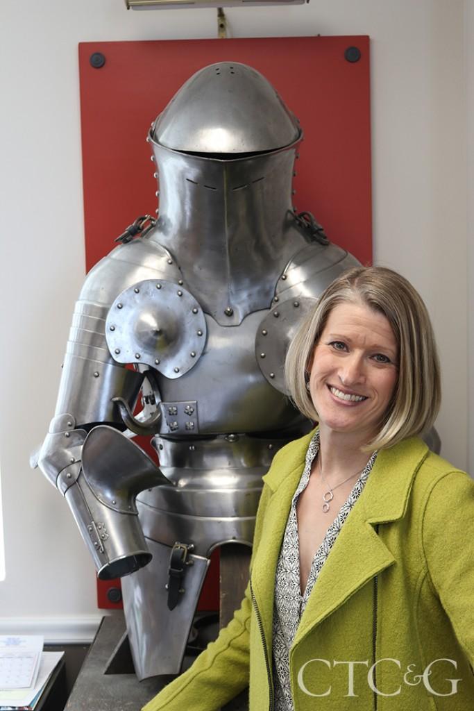 Maria Dumoulin With Armor 2