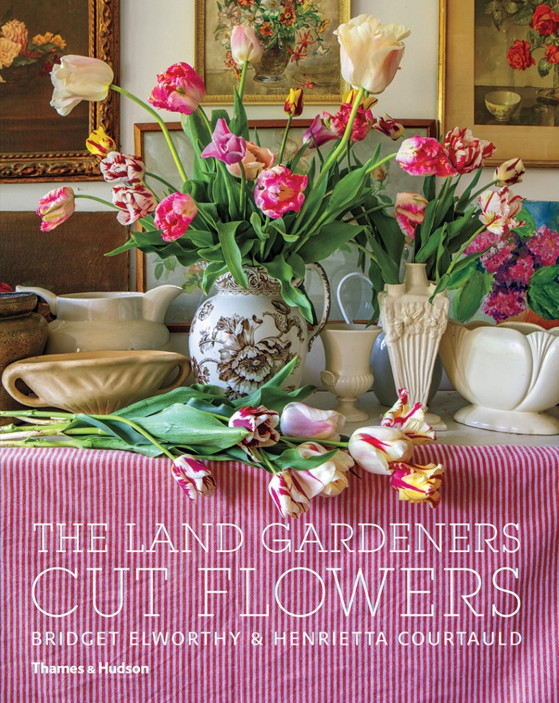 The Land Gardeners Cut Flowers Book Cover
