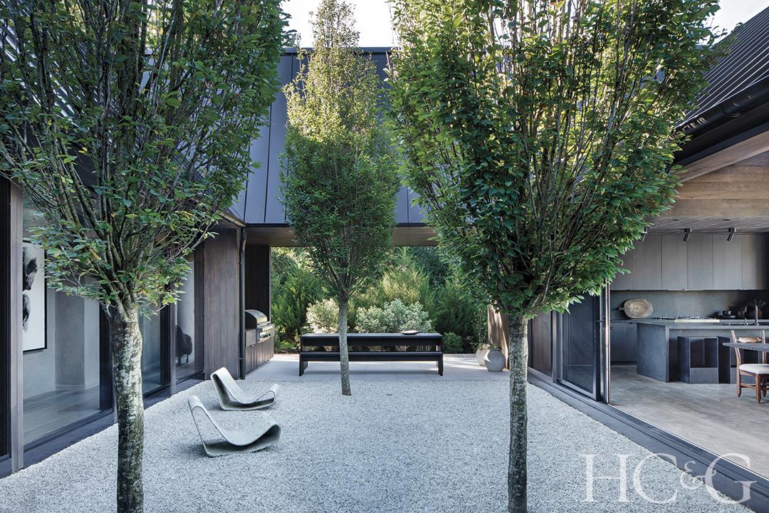 East Hampton Courtyard