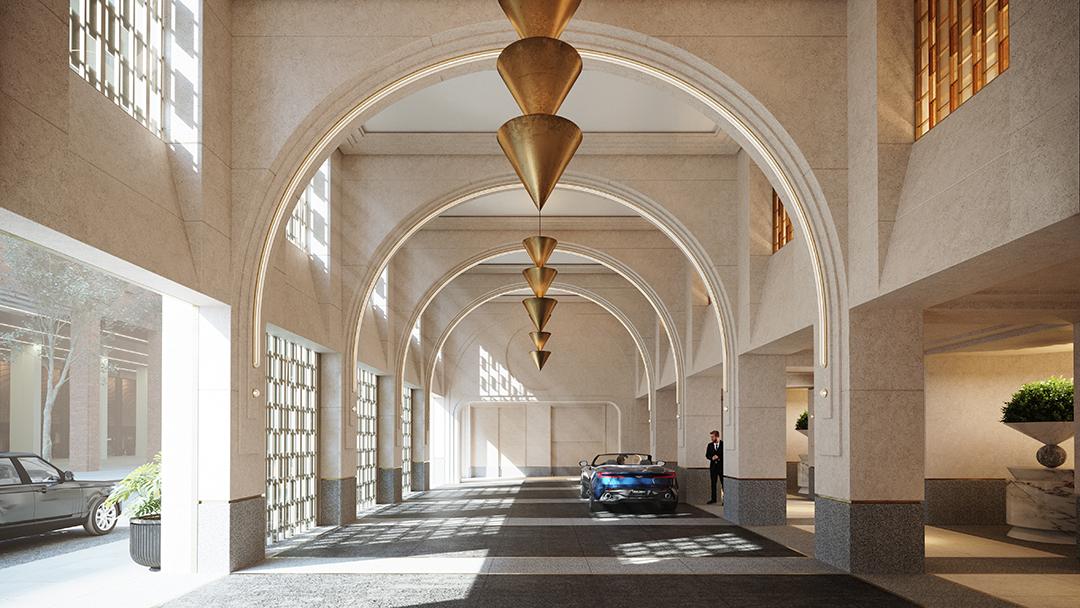 Waldorf Astoria Common Areas Porte Cochere