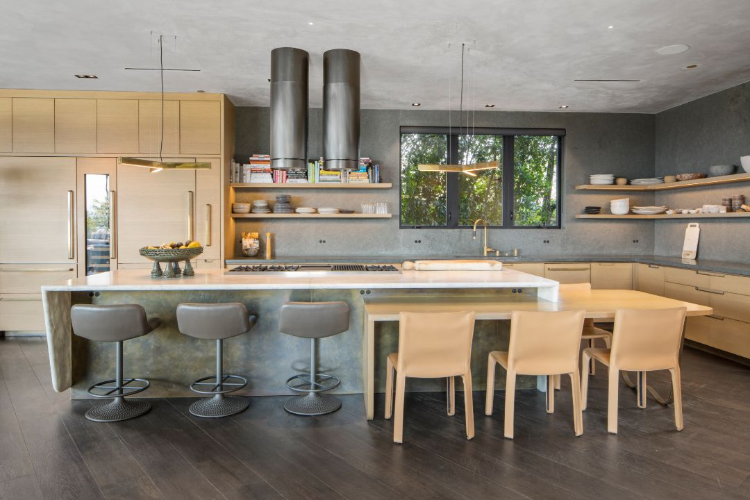 John Legend Chrissy Teigen Beverly Hills Home Cravings Kitchen