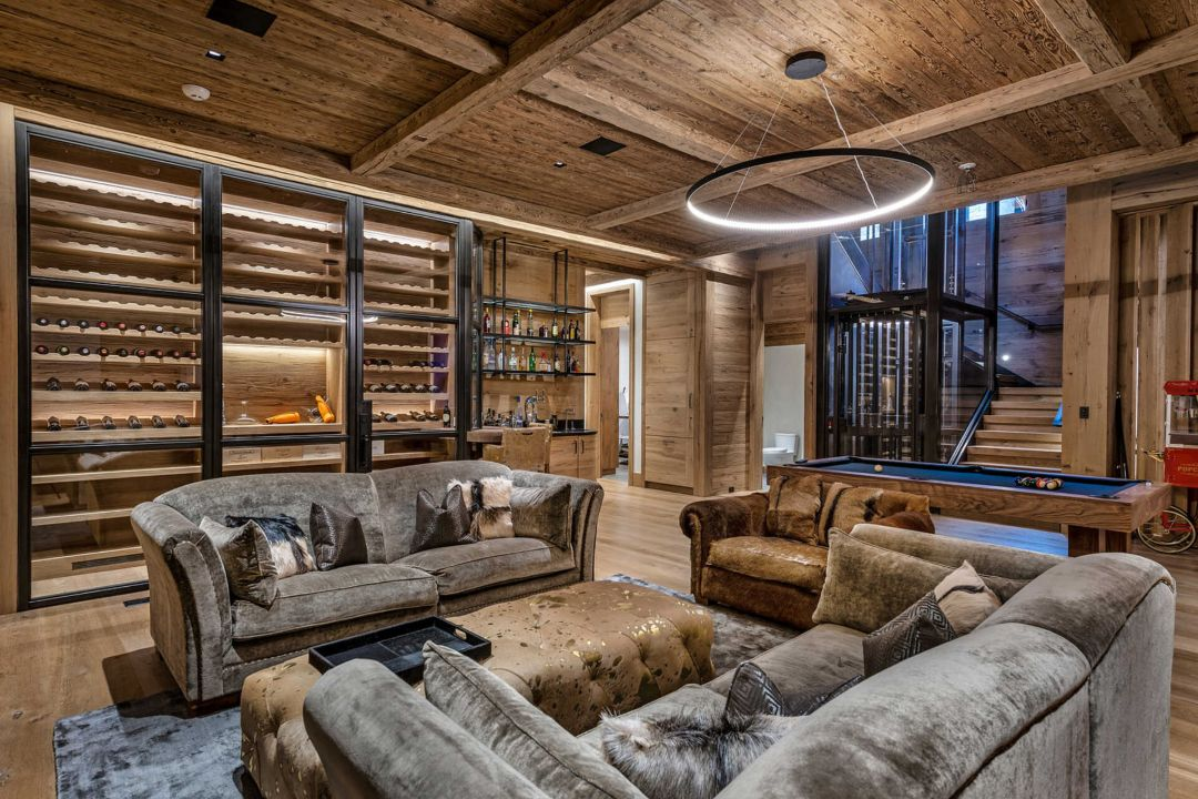 Aspen Colorado Rental Family Room