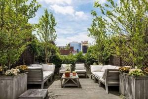Kate Winslet Chelsea Rental Outdoor Seating