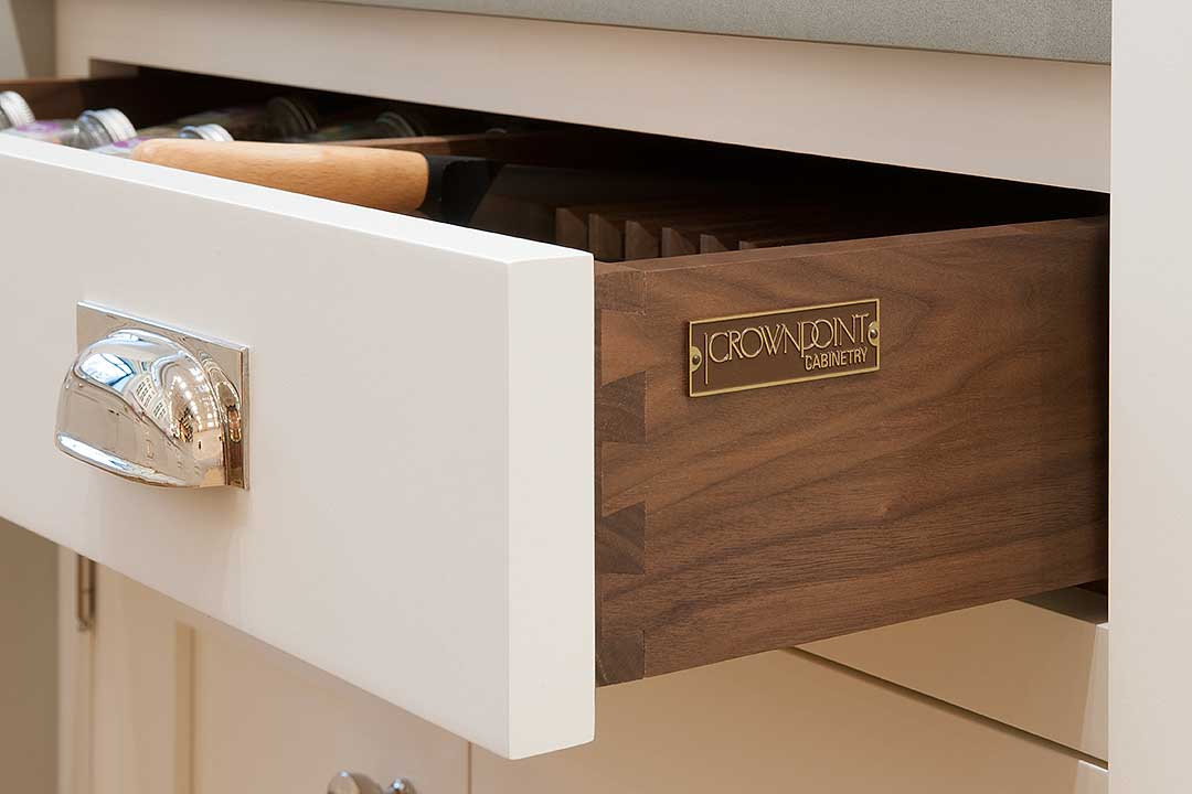 The Incredible Story Of Crown Point Cabinetry Walnut Drawer