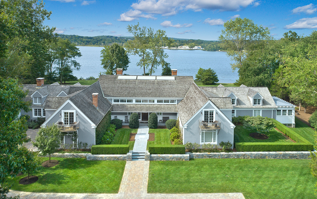 An Extravagant Gift: This $22M Home in Lyme, CT Offers Luxury on the Lake