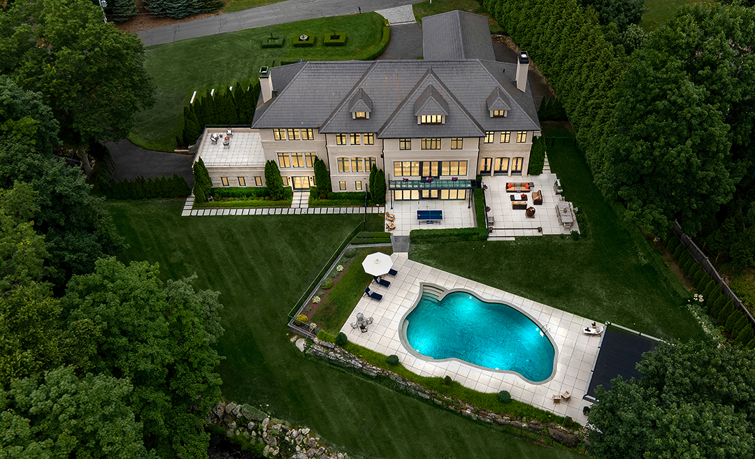 This Westport Home With A Tennis Court Serves Up A Luxurious Lifestyle For 5m