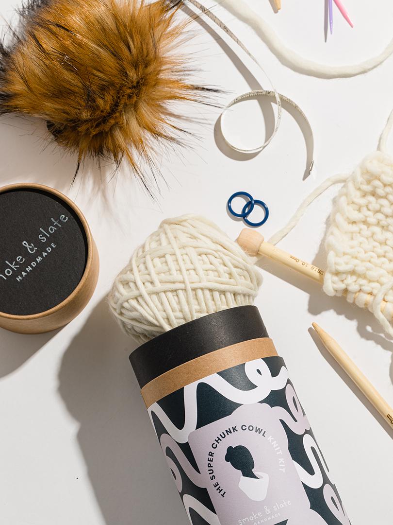 Smoke & Slate Knit Kit
