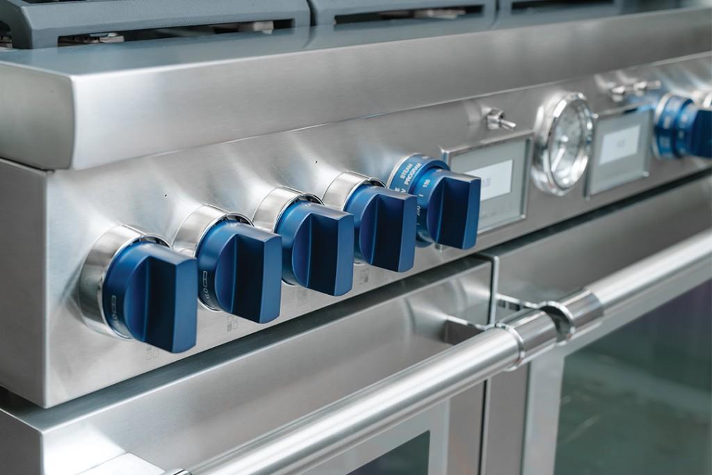 Thermador Custom Blue Knobs