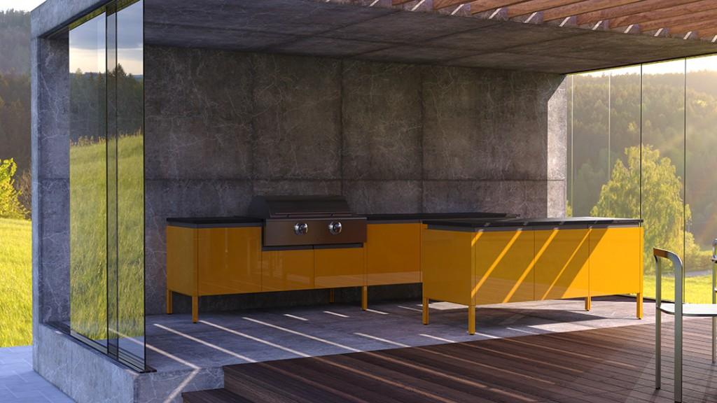 Brown Jordan Outdoor Kitchen Elements