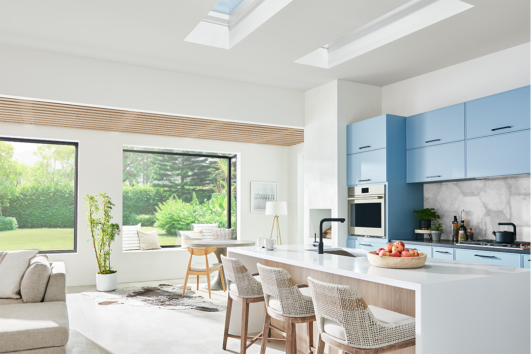 Create A Happier And Healthier Home Marvin Windows Skycove Awaken Sitting Area Kitchen