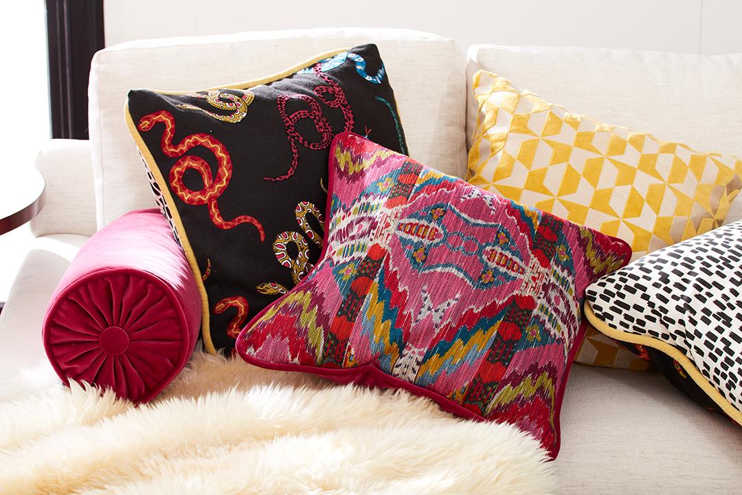 Design Inspiration So You Can Love Where You Live Calico Pillows