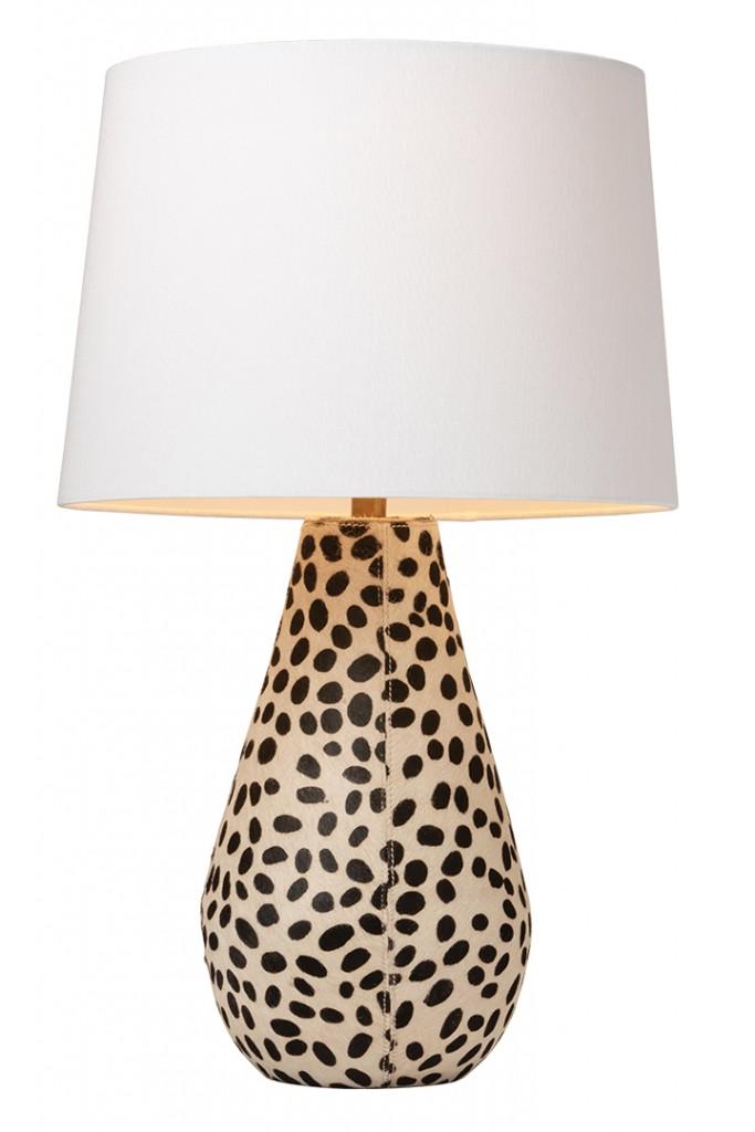 Animal Print Lamp