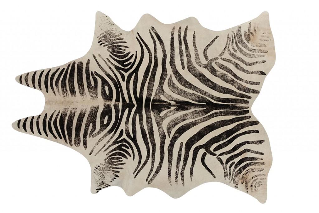 Cb2 Zebra Rug