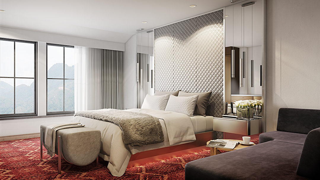 All About Branded Residences With Marriotts Dana Jacobsohn Aspen Bedroom