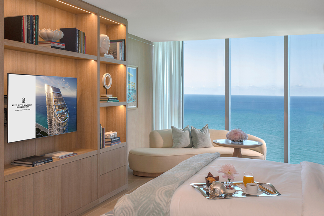 All About Branded Residences With Marriotts Dana Jacobsohn Sunny Isles Guest Suite