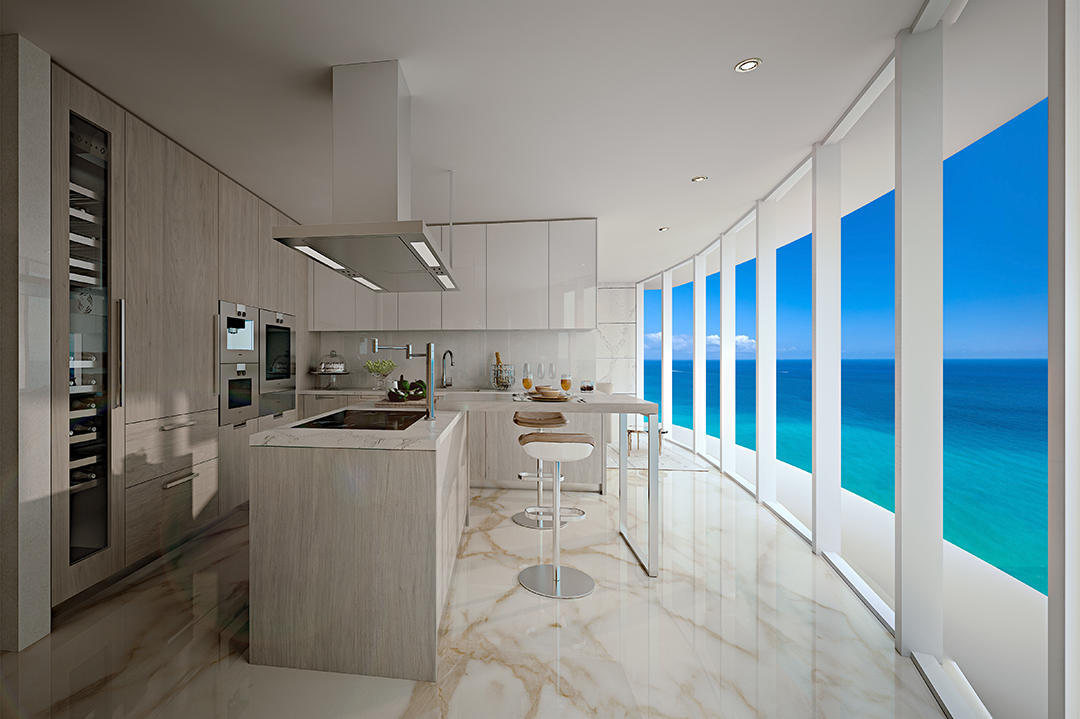 All About Branded Residences With Marriotts Dana Jacobsohn Sunny Isles Kitchen