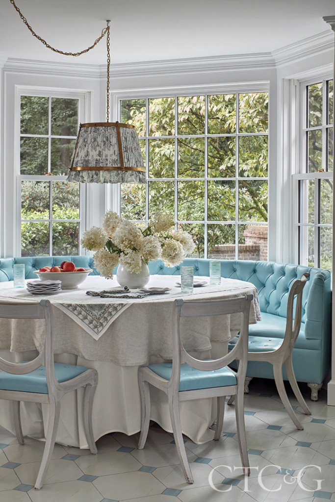 Bright Blue Furnishings
