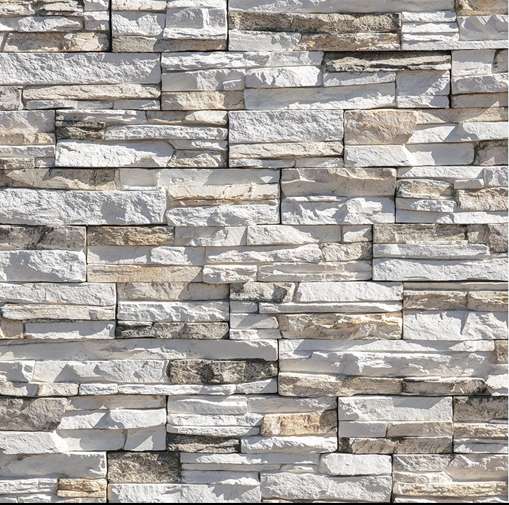Stacked Stone Wall