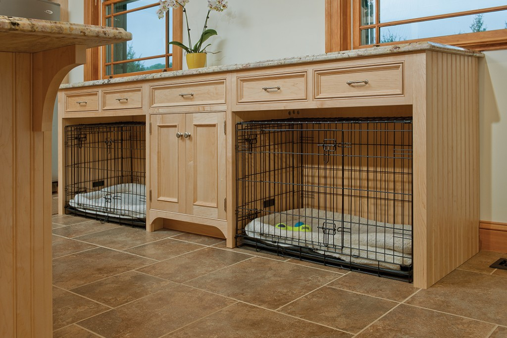 Dog Crate Cabinets