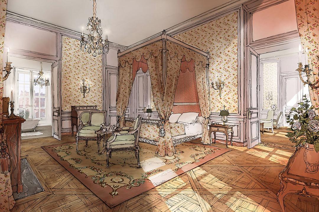 Inside the Airelles Château de Versailles, Le Grand Contrôle