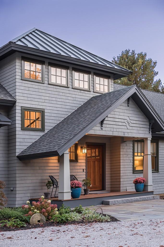Grey House Exterior