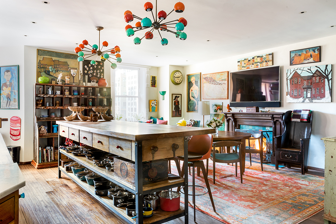 Jimmy Fallons Nyc Penthouse Lists And Its As Fun As One Would Imagine Kitchen