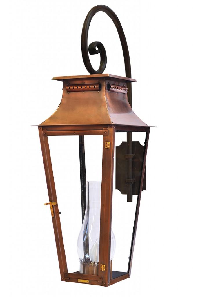 Copper Outdoor Lantern