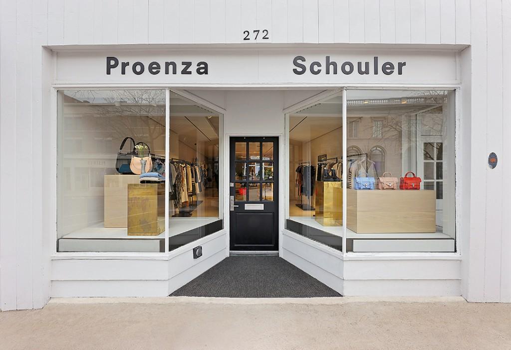 Proenza Schouler Greenwich Pop Up Shop 2