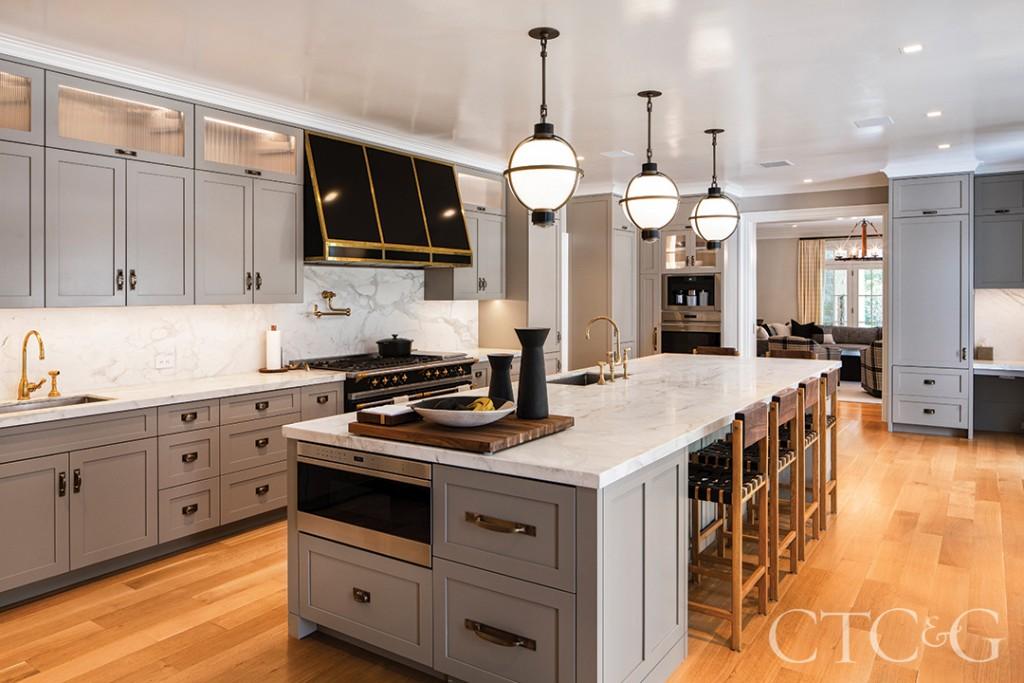 Gray Cabinetry In Modern Kitchen Design