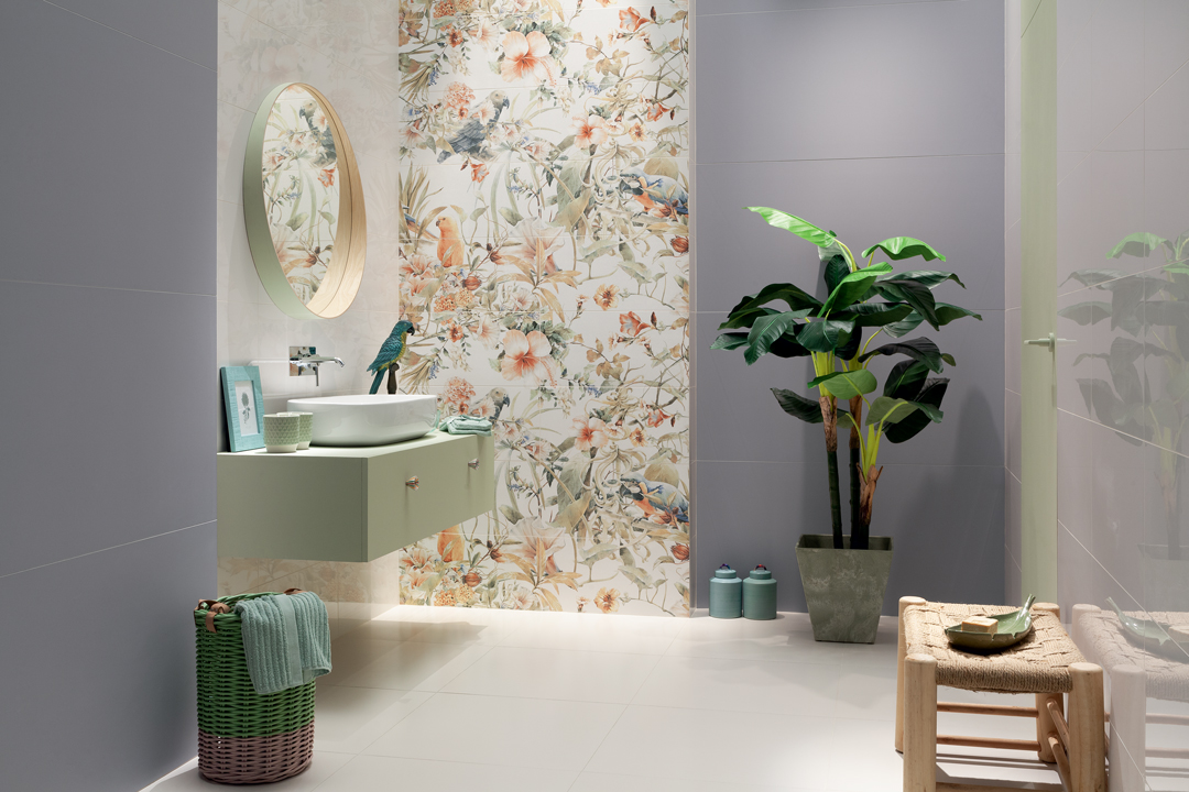 Talking Tile An Expert From Bender Shares Material Insight Current Trends And More Patterned Floral