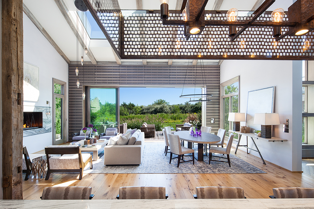 Designer Jolie Korek Creates a Nature-Inspired Modern in Bridgehampton