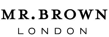 Mr Brown London Logo Blk