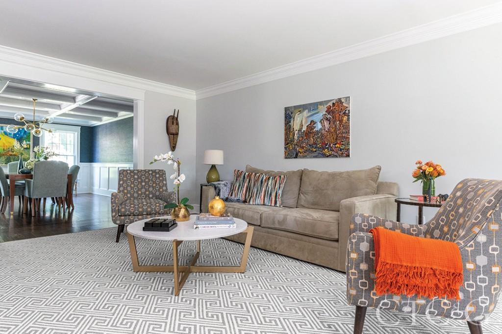 Darien Home Living Room