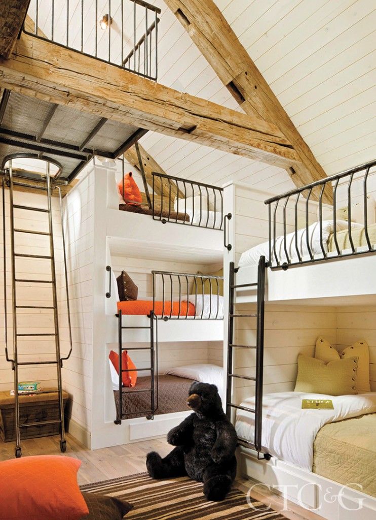 Bunk Beds Rustic Design