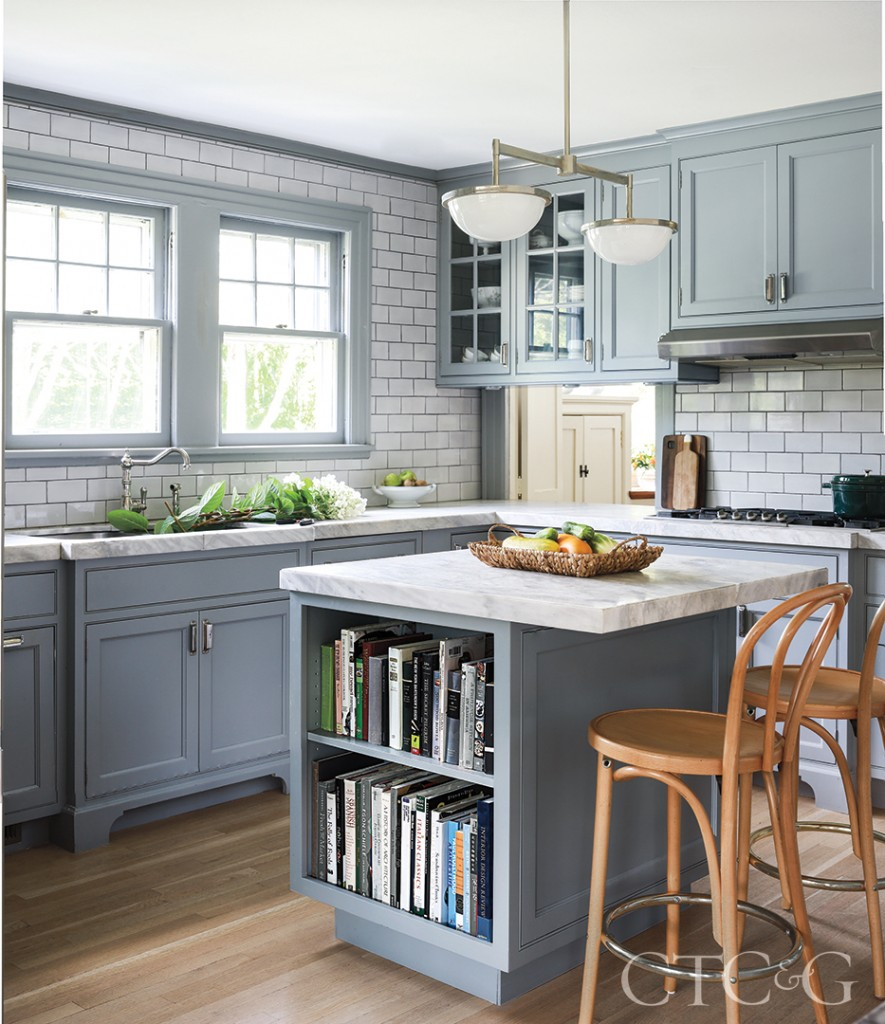 Baby Blue Kitchen Cabinets Design