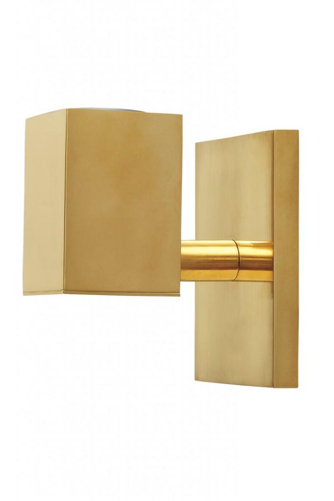Gold Wall Light