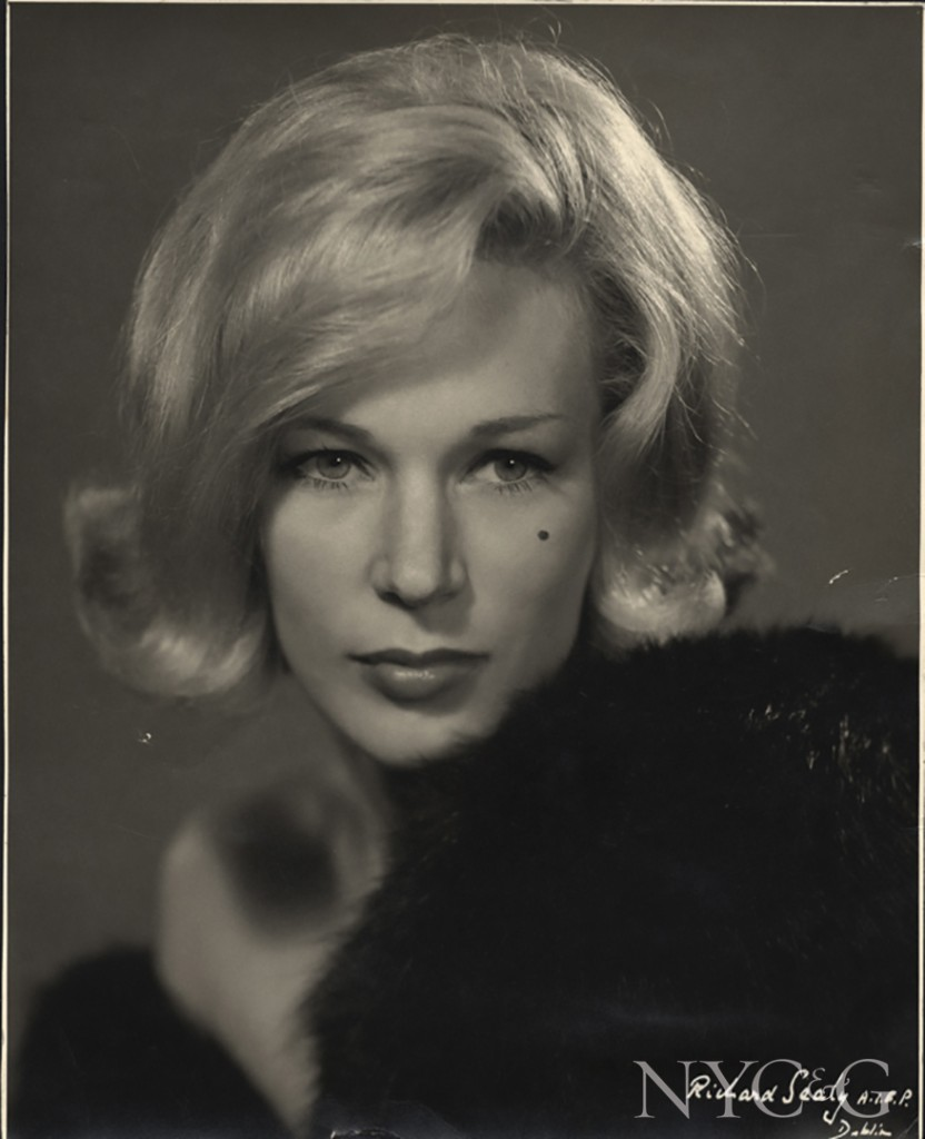 Blonde 1960s Hairstyle Of Clodagh