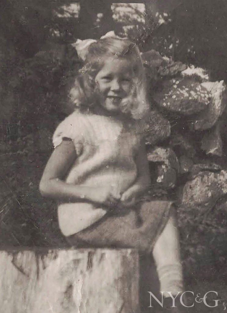 Young Girl In The 1940s