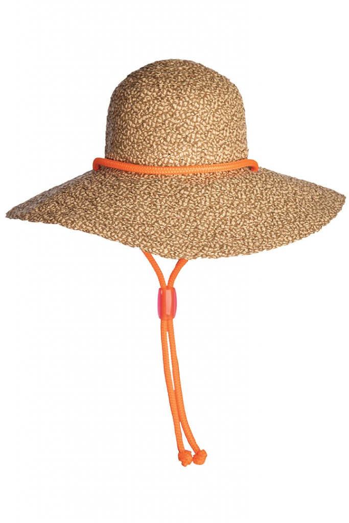 Floppy Beach Hat With Chinstrap