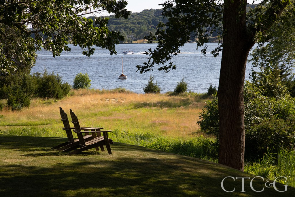 chairs overlooking the connecticut river