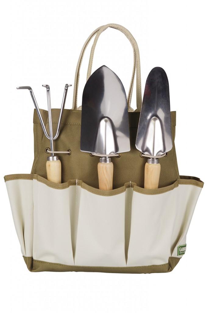 Garden Tools In Organized Bag