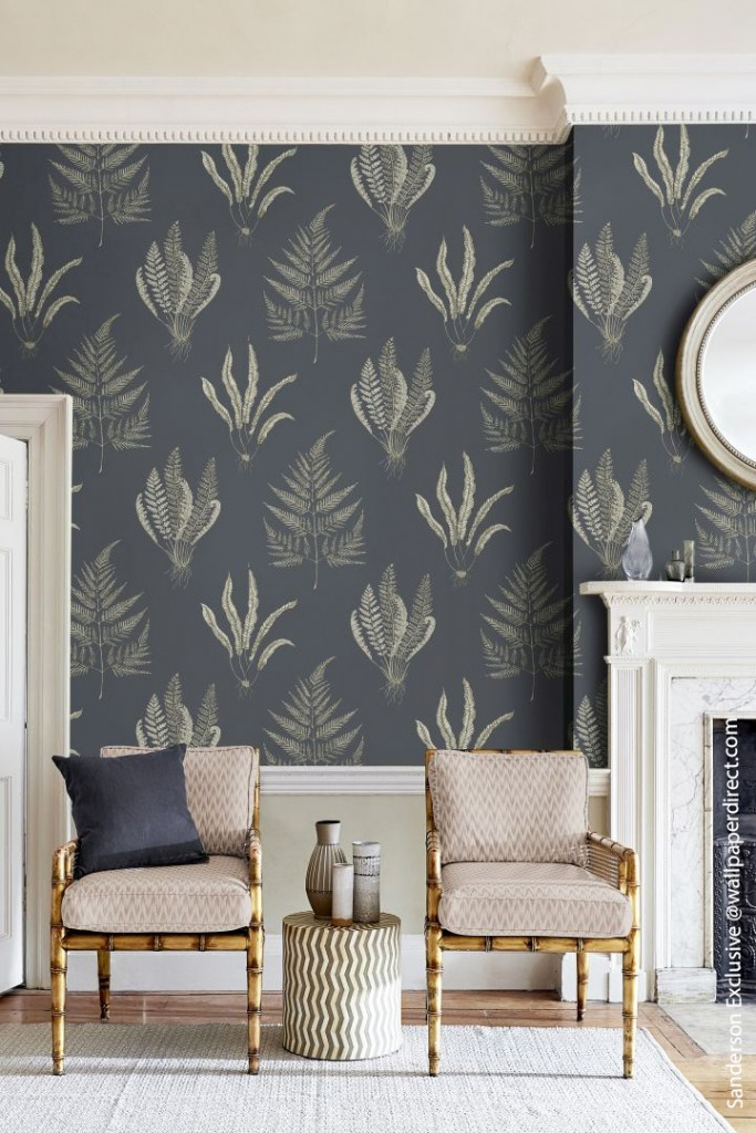 Discover Wonderful Wallpapers From Across The Pond Wallpaperdirect Sanderson Exclusive Chairs